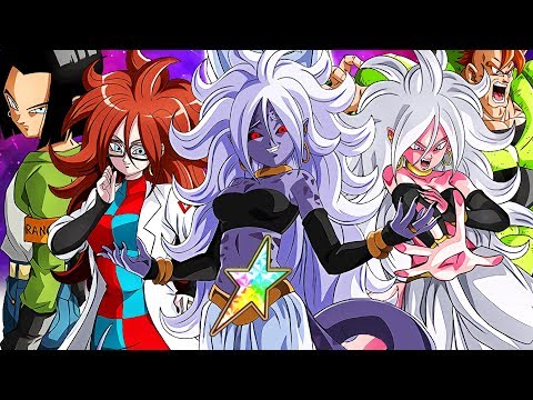 Attack of the Androids! Android 21 Returns! Dragon Ball FighterZ x Dokkan Battle Collab!