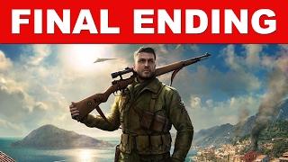 Sniper Elite 4 Ending (Final Ending/Full Ending/Complete Ending) Final Mission Ending Cutscenes