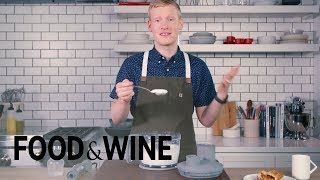 How to Whip Skim Milk For Healthier Whipped Cream | Mad Genius Tips | Food & Wine