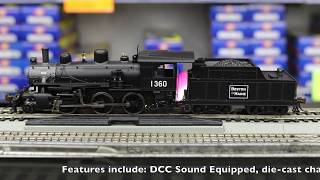Bachmann Industries Alco 2-6-0 DCC Sound Value Equipped HO Scale #39 Union Pacific Locomotive