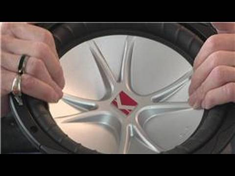 Car Audio : How to Tell if a Car Subwoofer Is Blown - YouTube