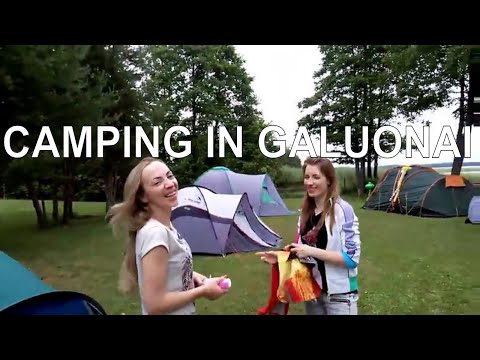 CAMPING IN GALUONAI | LITHUANIA | VLOG #17