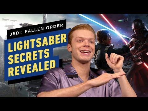 Cameron Monaghan Reveals Secrets of Cal's Lightsaber in Star Wars Jedi: Fallen Order from YouTube · Duration:  5 minutes 22 seconds