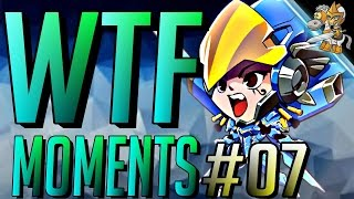 Overwatch WTF FUNNY Moments Vol #7
