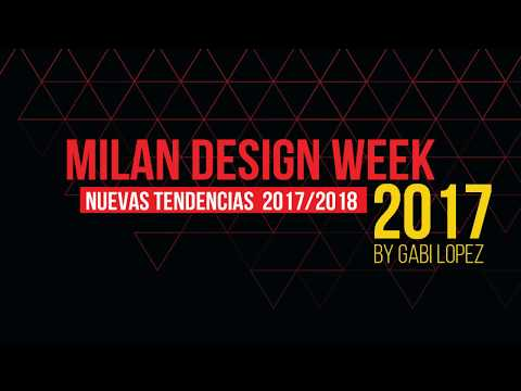 Milan Design Week 2017 by Gabi López