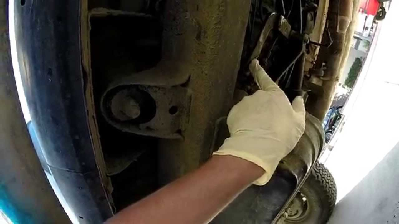 1984    Toyota       4runner    Parking Brake Cable Replacement  YouTube