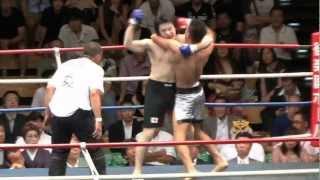 (7.15.2012 後楽園ホール 第3試合) WARU下克上 スーパーファイト -75k...