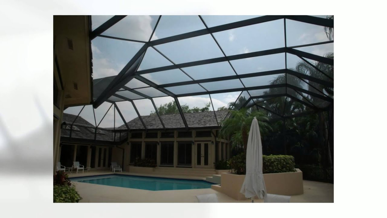 Bird Cage Pool Screen Enclosures West Palm Beach Screen