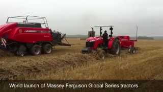Massey Ferguson Vision of the Future 2014 event and launch of Global Series tractors- Farmers Guide