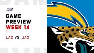 Los Angeles Chargers vs Jacksonville Jaguars Week 14 NFL Game Preview