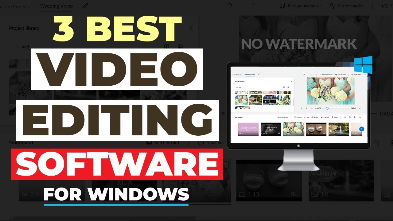 Download The 3 Best FREE Video Editing Software FOR WINDOWS PC In 2021