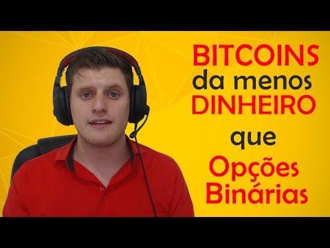 Bitcoins da menos dinheiro que Opções Binárias?!