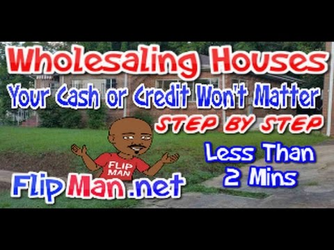 Wholesaling Houses Explained Step by Step | Whiteboard Video Tells All | FlipMan.net