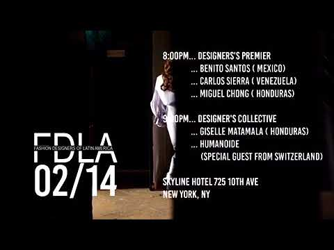 Fashion Designers of Latin America NYFW Promo Video