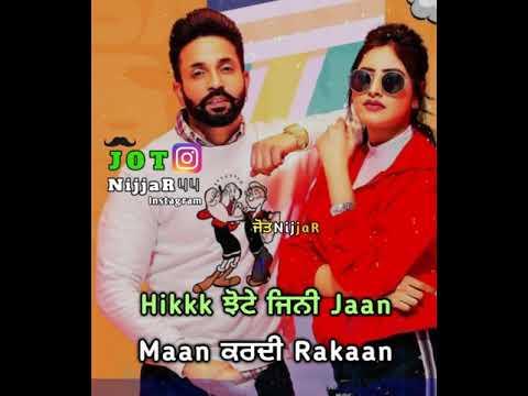 Affair Baani Sandhu Ft. Dilpreet Dhillon Whatsapp Status | Latest Punjabi Songs 2019 |Punjabi Status