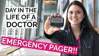 day in the life of a doctor emergency pager