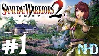 Let's Play Samurai Warriors 2 Xtreme Legends Gracia Ch1 Battle of Anegawa