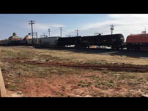 BNSF Mixed Freight going through Edmond, OK