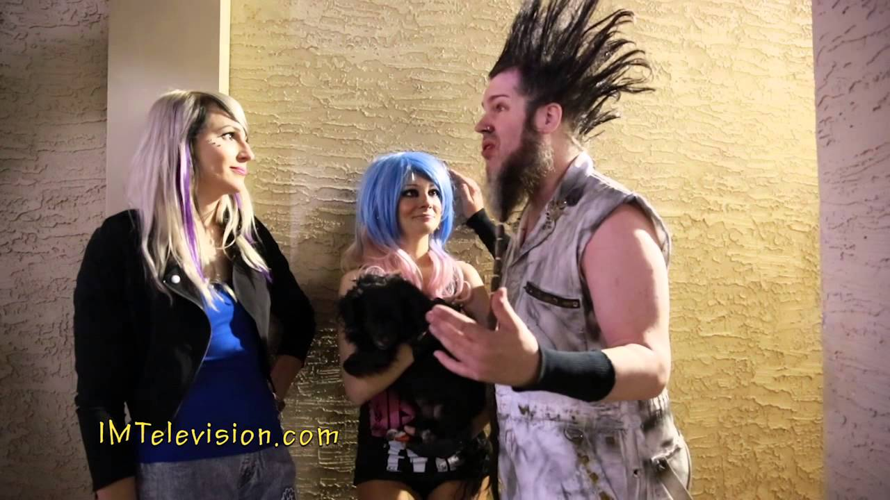Wayne Static Interview And Wife Tera Wray In Az Last Imp Tv Wayne Static Interview Youtube