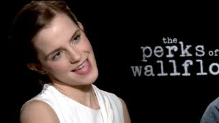 Emma Watson And Stephen Chbosky Interview For THE PERKS OF BEING A WALLFLOWER