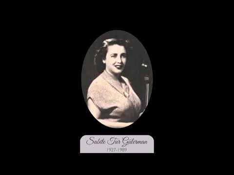 Sabite Tur Gülerman-Bir bahar akşamı rastladım size