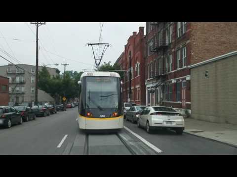 Cincinnati streetcar in action