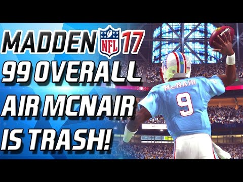 99 OVERALL AIR MCNAIR! BOMBS AWAY OFFESNE! - Madden 17 Ultimate Team