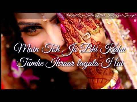 Tum Jo Gussa Bhi Karo To Muje Pyar Lagata Hai Jaane Kyu...