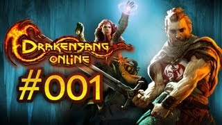 Let's Play Drakensang Online #001 - Gameplay zum neuen Free 2 Play Browsergame