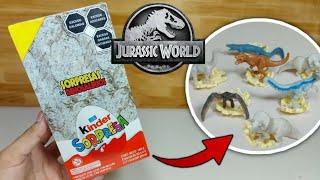 Abriendo una Caja de Huevos Kinder de Jurassic World