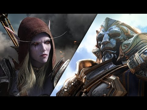 World of Warcraft: Battle for Azeroth Cinematic-Trailer