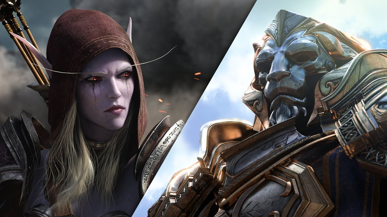 World of Warcraft: Battle for Azeroth Cinematic-Trailer thumbnail
