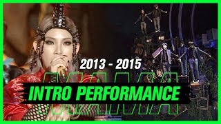 ♨2013-2015 MAMA 인트로 퍼포먼스 모음♨ (Intro Performance Compilation in 2013-2015 MAMA)