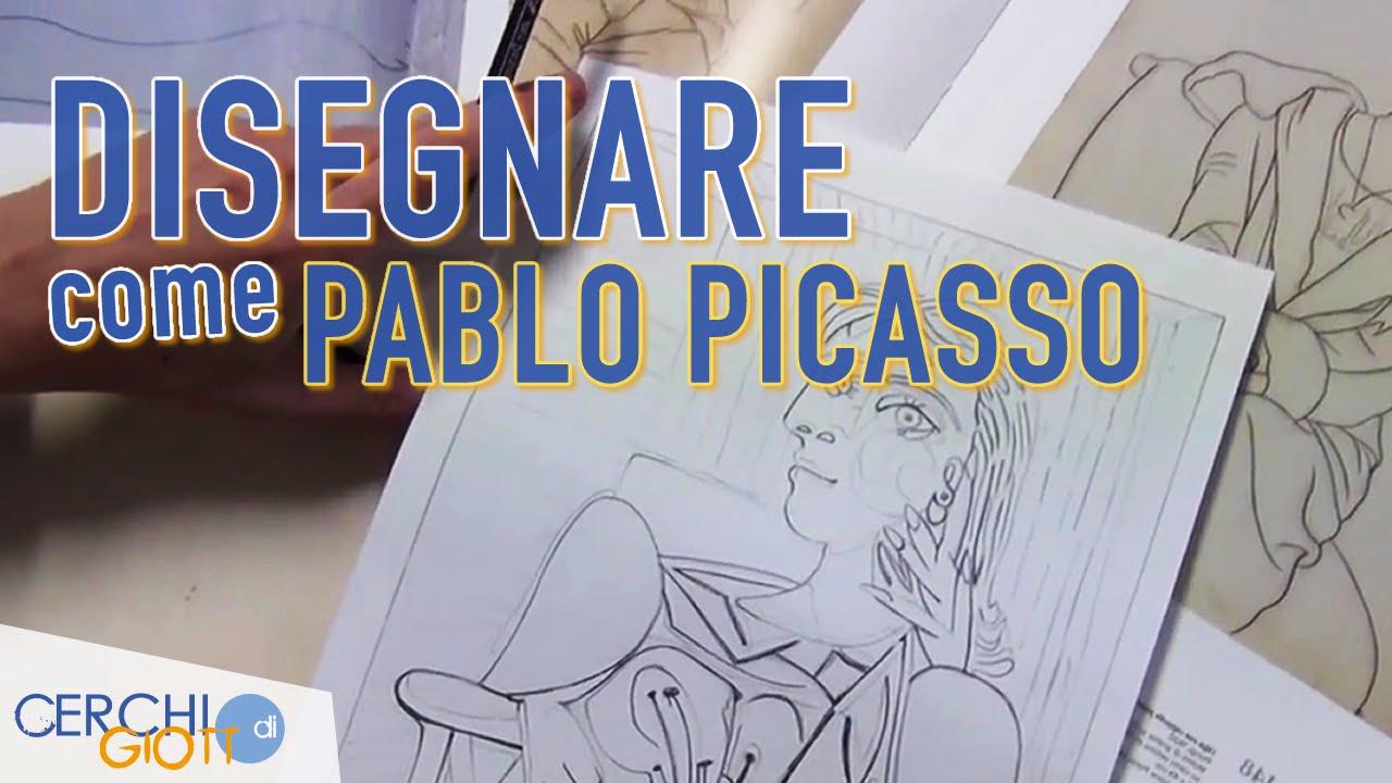 Imparare A Disegnare Come Pablo Picasso Youtube
