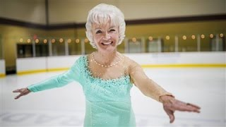 What's Your Workout: Sheila Cluff Ice Skates at 80