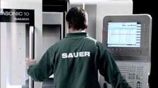 Deckel Maho Gildemeister SAUER Dental Trailer ULTRASONIC 10 / 20