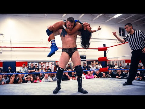 MJF vs. Ashley Vox - Limitless Wrestling (AEW Dynamite, Intergender, Mixed)