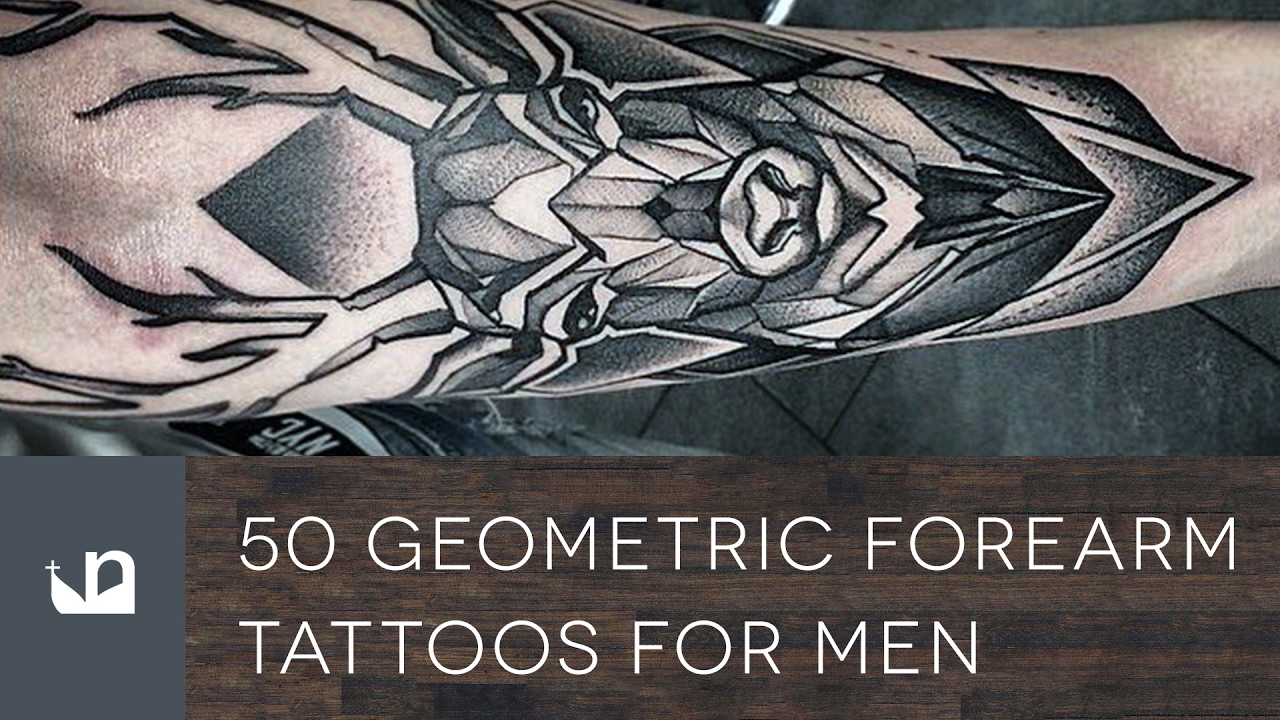 1a105a1ae 60 Geometric Forearm Tattoos For Men - YouTube