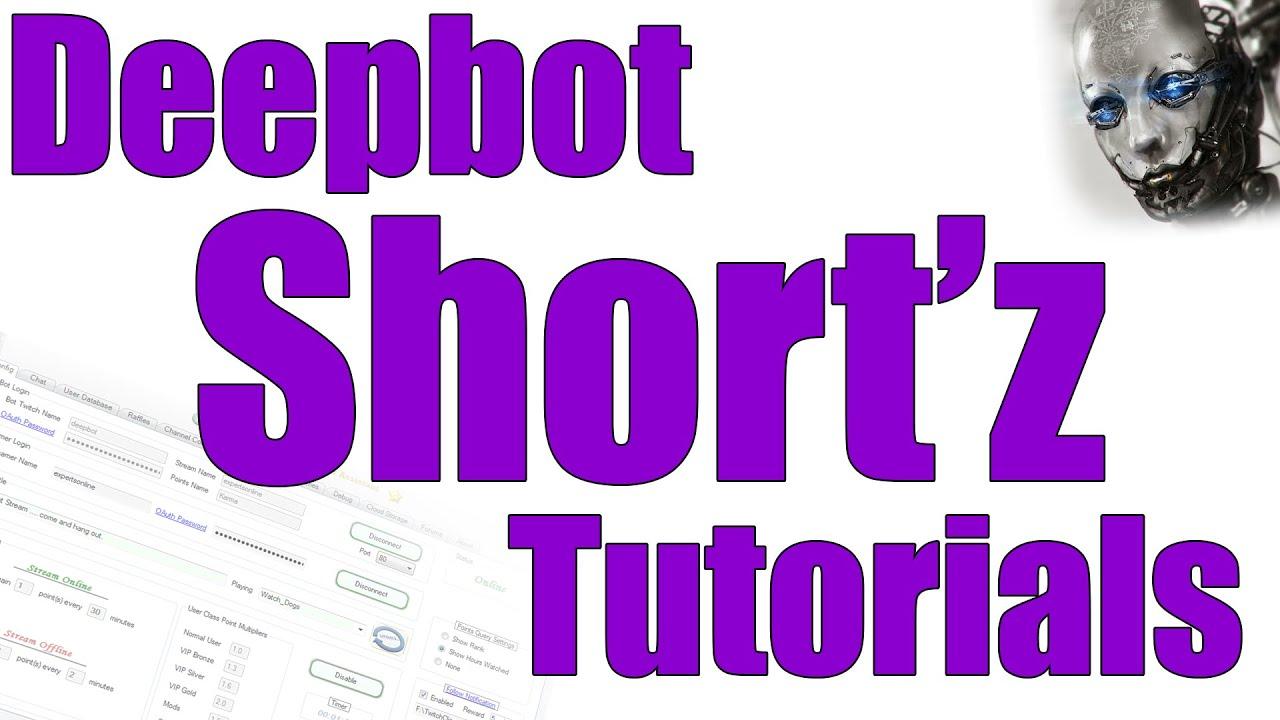 #12 Deepbot Short'Z: Timed Messages