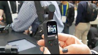 CES 2019: Osmo Pocket, la cámara portátil tendencia en Las Vegas