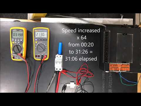 Super cap discharge test