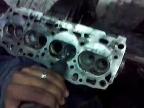 Preparacion De Tapa De Cilindro Fiat 1 6 Youtube