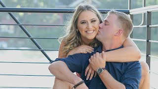 Local photographer conducts photoshoot of blind date