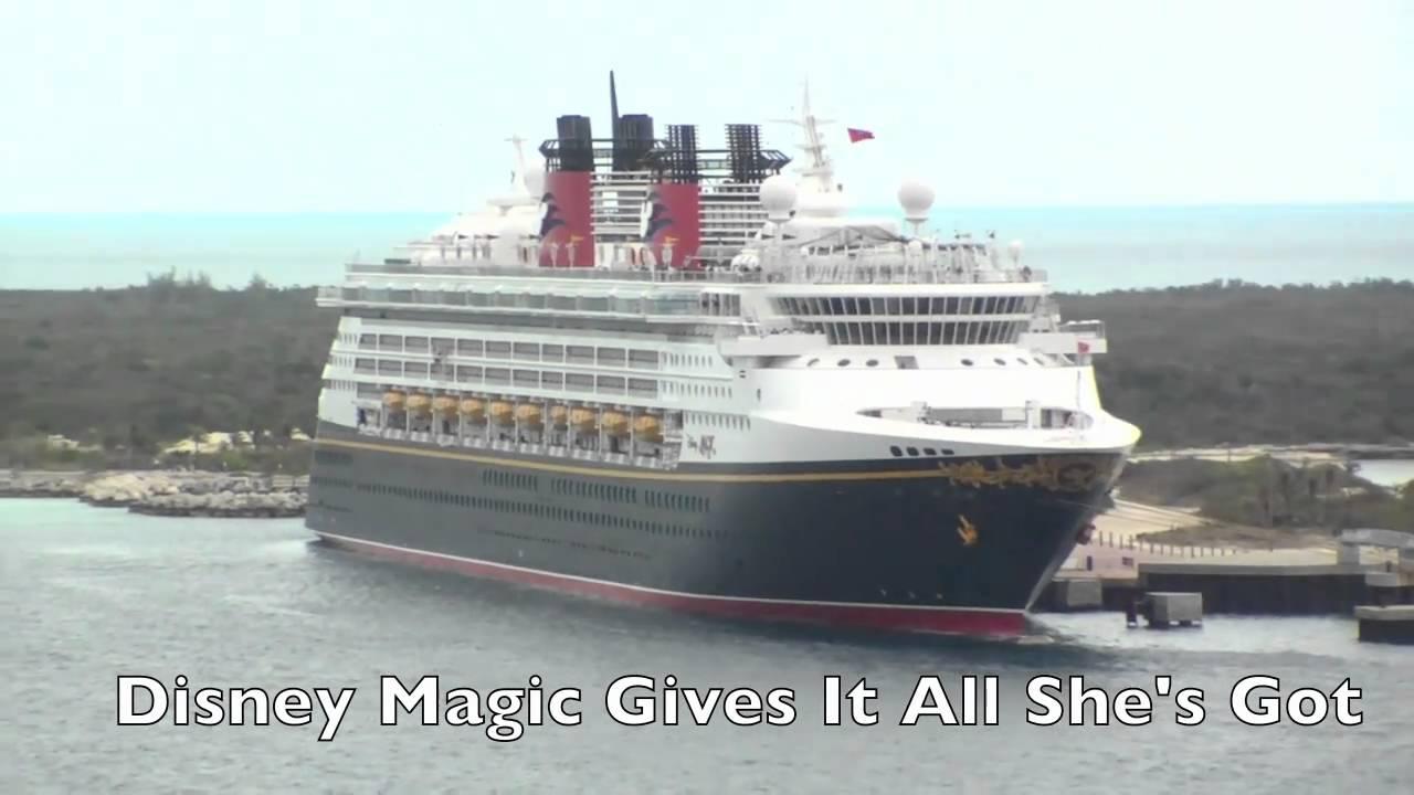 Disney Dream Vs Magic Ship Horn Showdown Plus All Of Dreams - Best cruise ship songs