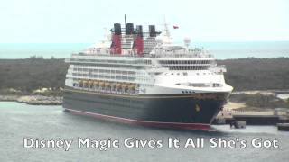 Disney Dream vs. Magic - Ship Horn Showdown (Plus All of Dream