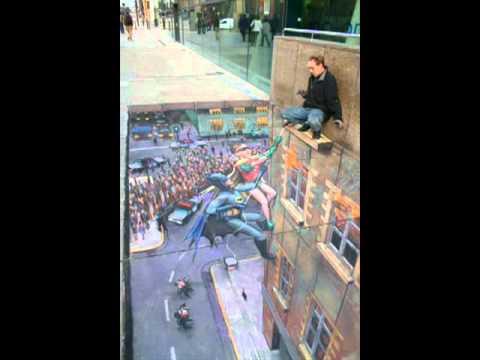 Tranh 3D đường phố của nghệ sĩ Jamie Walton   VnExpress