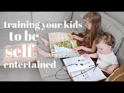 How To Train Your Kids To ENTERTAIN Themselves | Tips & Advice