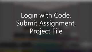 Gambar cover Login with Code, Submission Of Assignment, Project File