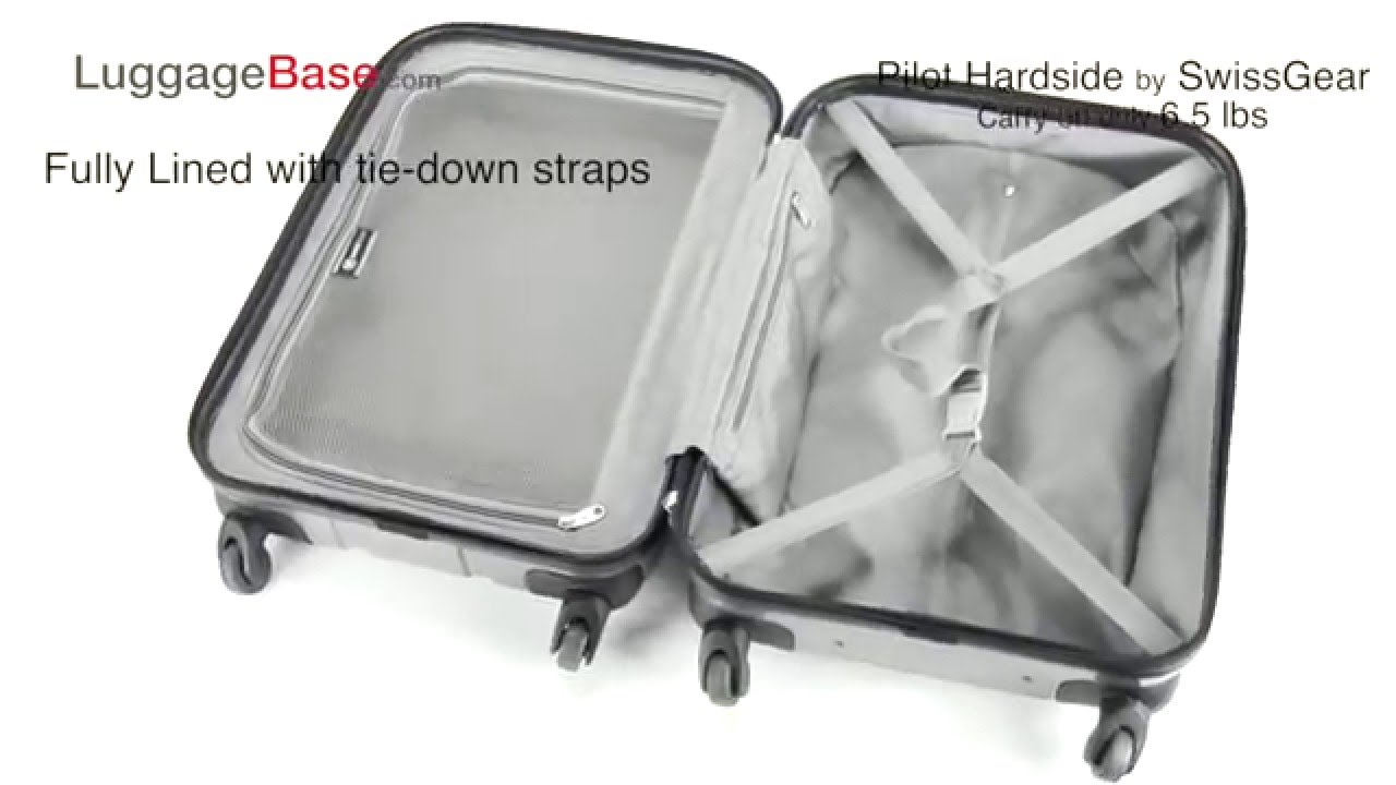 SwissGear Pilot Hardside Luggage Set Review - LuggageBase.com ...