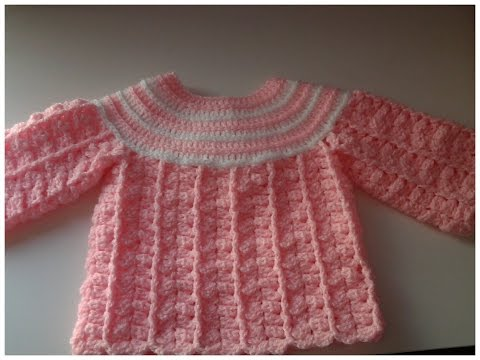 Jersey de bebe ( Chambrita) #tutorial 1 #DIY